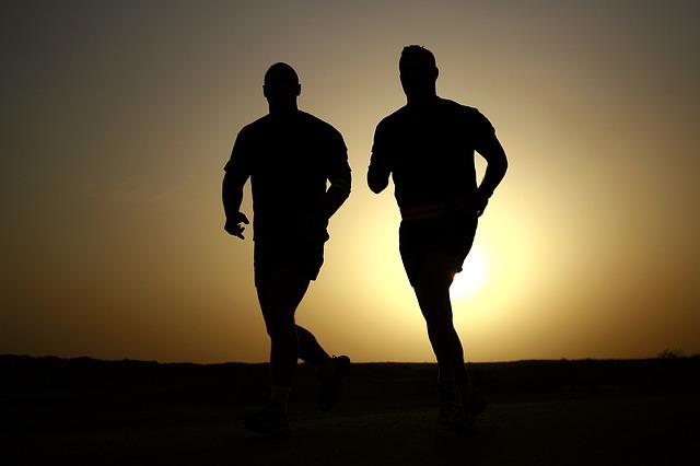 běh po tmě