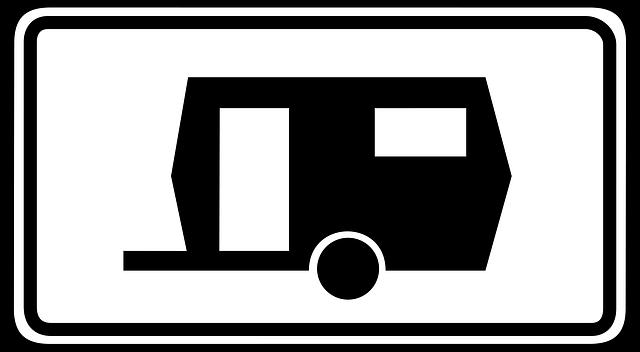 dopravní značka pro karavany