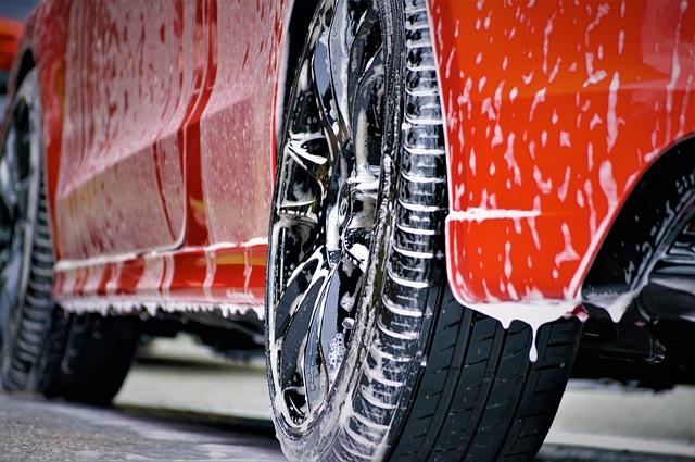 mytí vozu